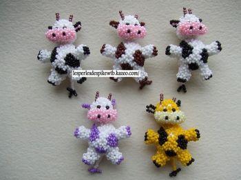 Petite Vache à Taches (2) (Créa Perso)