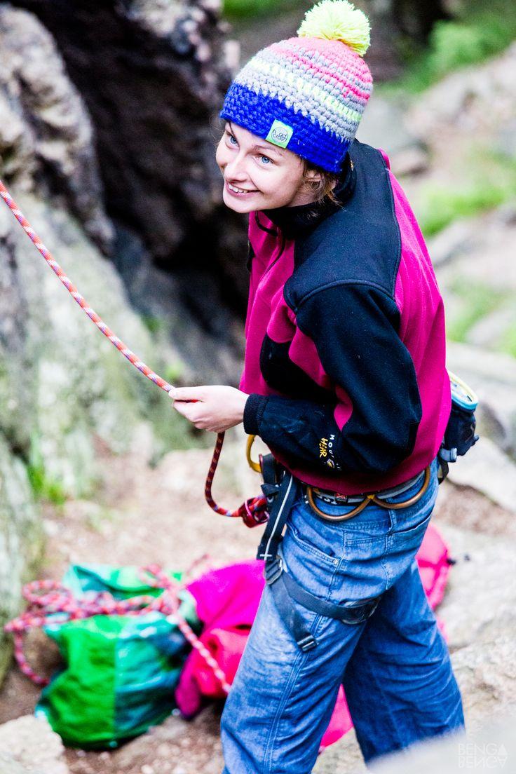 climbing, Magda, Sokoliki, Poland