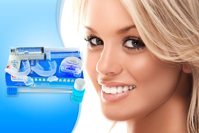 Home LED Teeth Whitening Kit