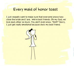 Maid Of Honor Speeches