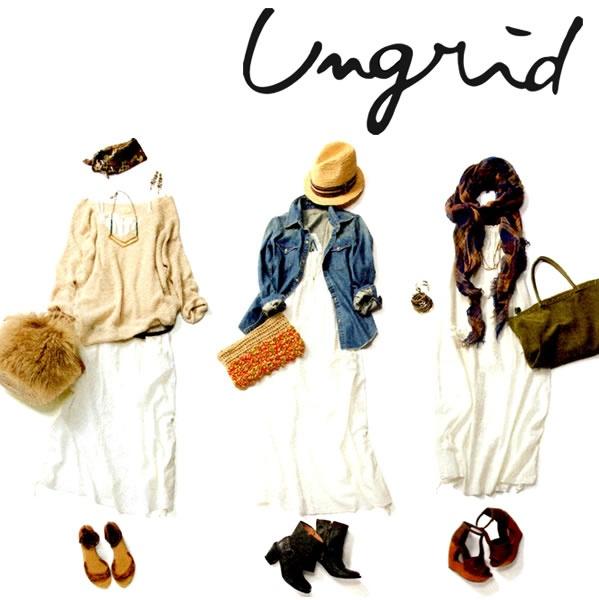 【あす楽】アングリッド【UNGRID】通販 レディース ワンピ【2013S/S新作】Ungrid(アングリッド)コットン刺繍ベアマキシOP【交換・キャンセル・返品不可】【送料無料】【楽天市場】