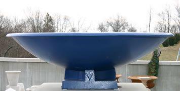 "56"" Cast Iron LONGSHADOW - Fountain Bowl"