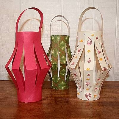 Make your own paper lantern with this easy tutorial for Paper lantern tutorial
