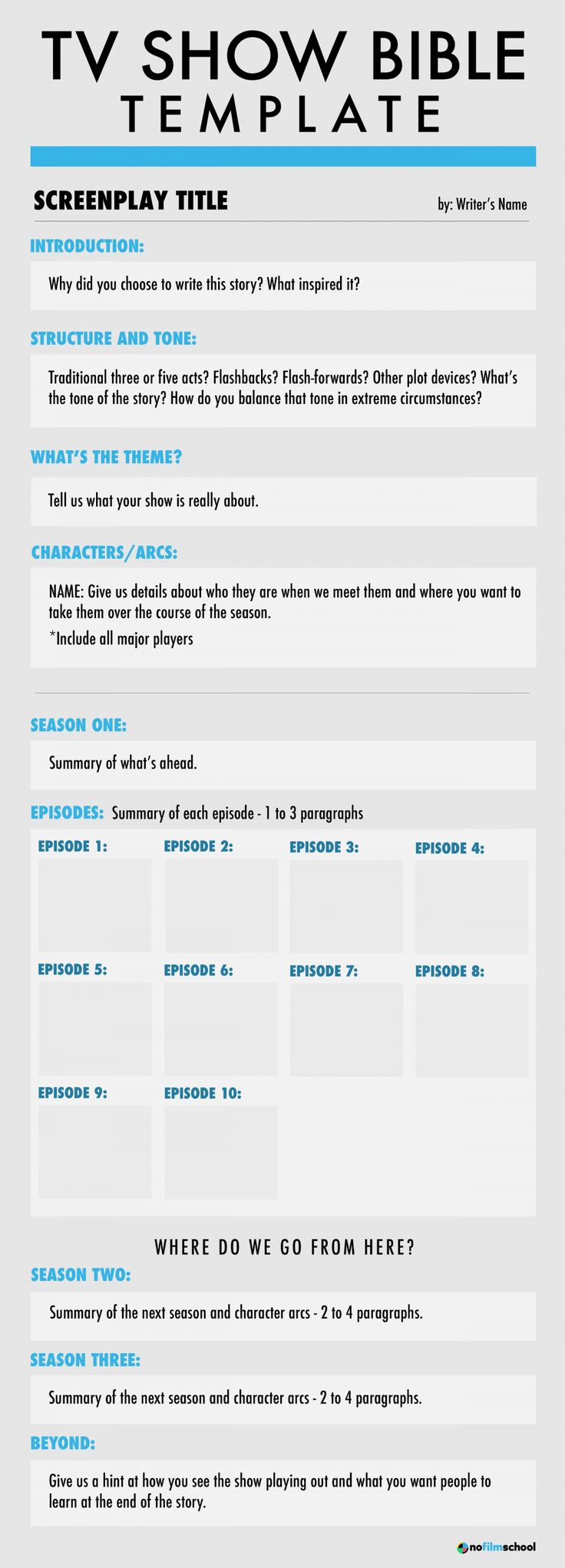 Learn to Write a TV Show Bible With Our Show Bible