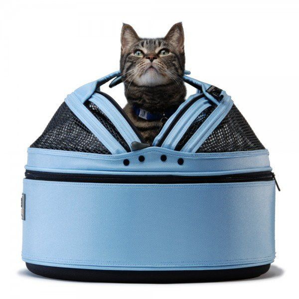 Sleepypod Medium Mobile Pet Bed, Sky Blue Pet Carrier – PetsOwnUs