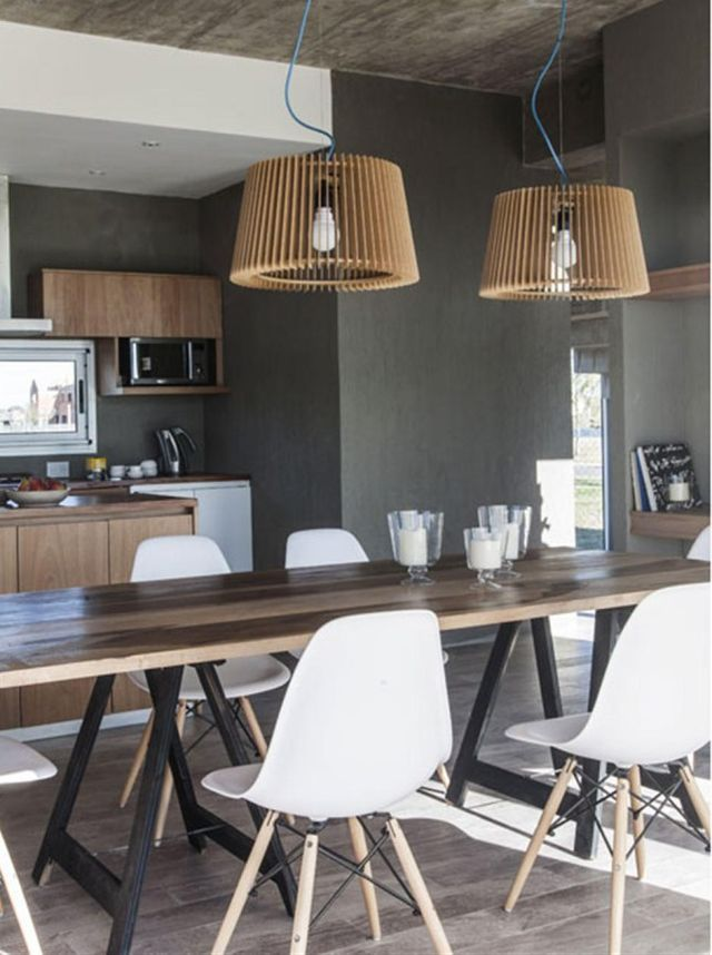 Une maison d'architecte de pierre et de bois | PLANETE DECO a homes world | Bloglovin'