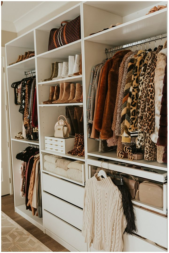 4 Tips For Organizing Your Closet Haute Off The Rack Organizing Walk In Closet Bedroom Organization Closet Closet Designs
