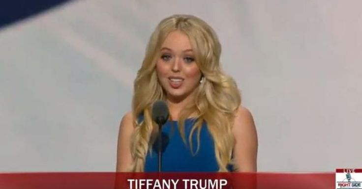 Full Video: Tiffany Trump Speech at Republican National Convention: RNC 2016 Cleveland