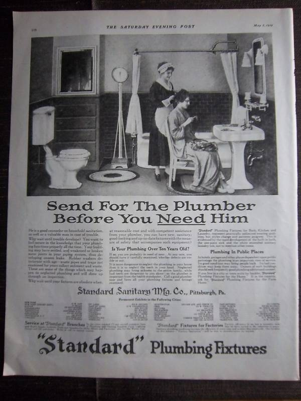 147 best Early 1900s Bathrooms images on Pinterest  Vintage bathrooms Bathroom and Edwardian