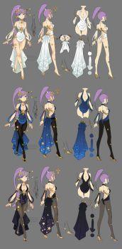 Dragon nest myth sorceress by ZiyoLing