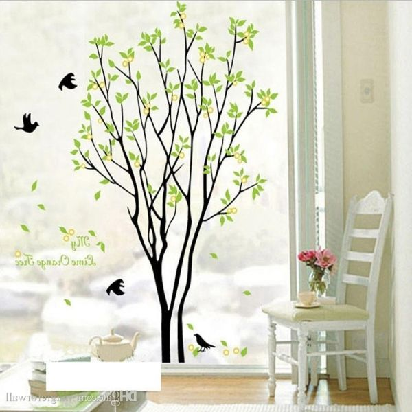 Nice Tree Design Wallpaper Living Room Part 32