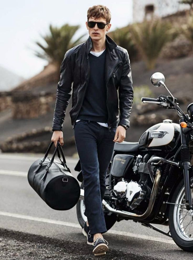 11 Cool Leather Jackets Mix and Match Ideas for Manly ...