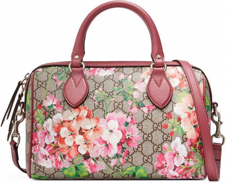 7c093f7a Gucci Blooms small GG top handle bag #Designerhandbags   Designer ...