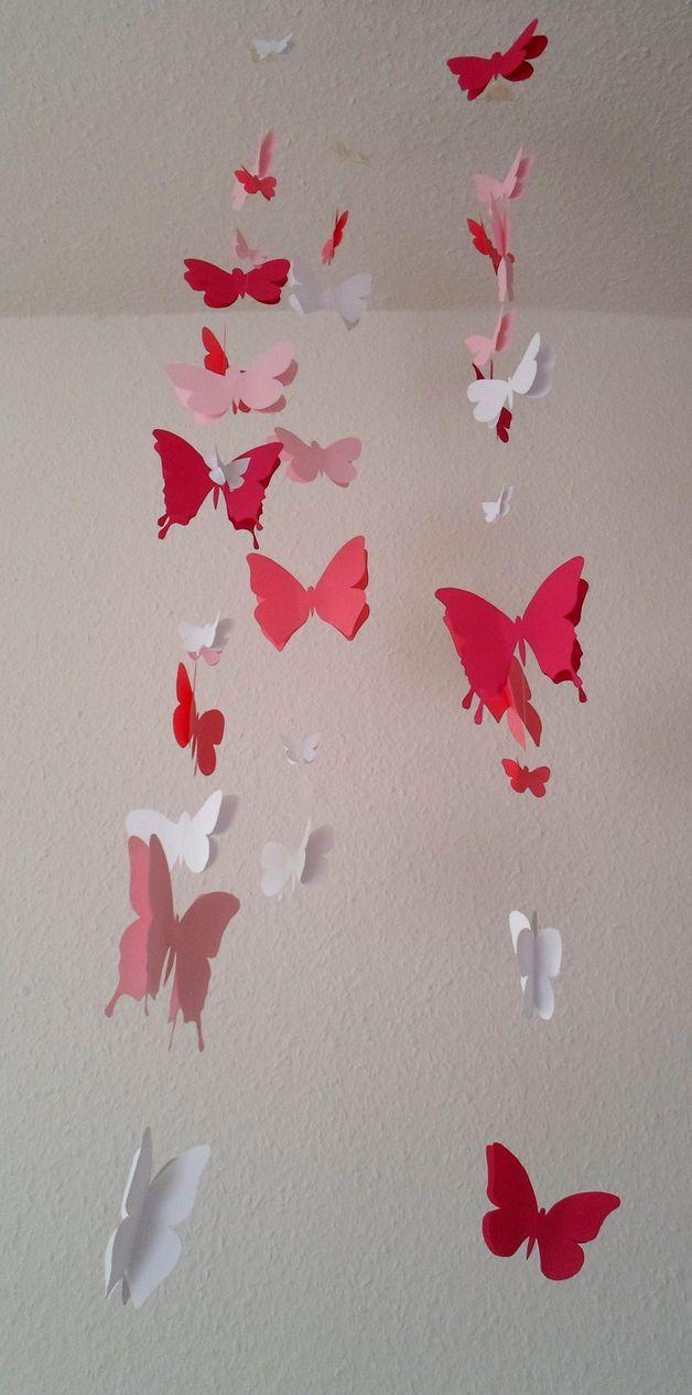 Best Schmetterling Mobil Rosa