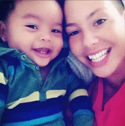 In a recent interview with Seth Meyers, Amber Rose revealed that she twerks for her son to make him laugh. Should she?