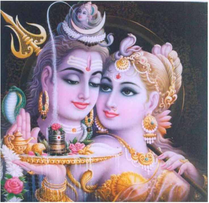Shakti and Shiva -- the divine feminine and masculine. Copied from http://sacredtrinity.wordpress.com/ -- unable to contact for permission