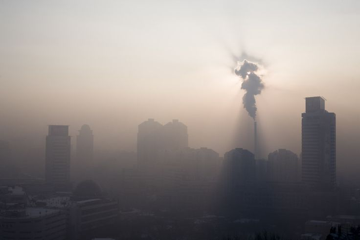 Carlos Spottorno. URÜMQI. Factory smoke.