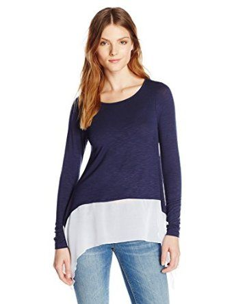 Design History Women's Chiffon Assym Top from $45.99 by Amazon BESTSELLERS
