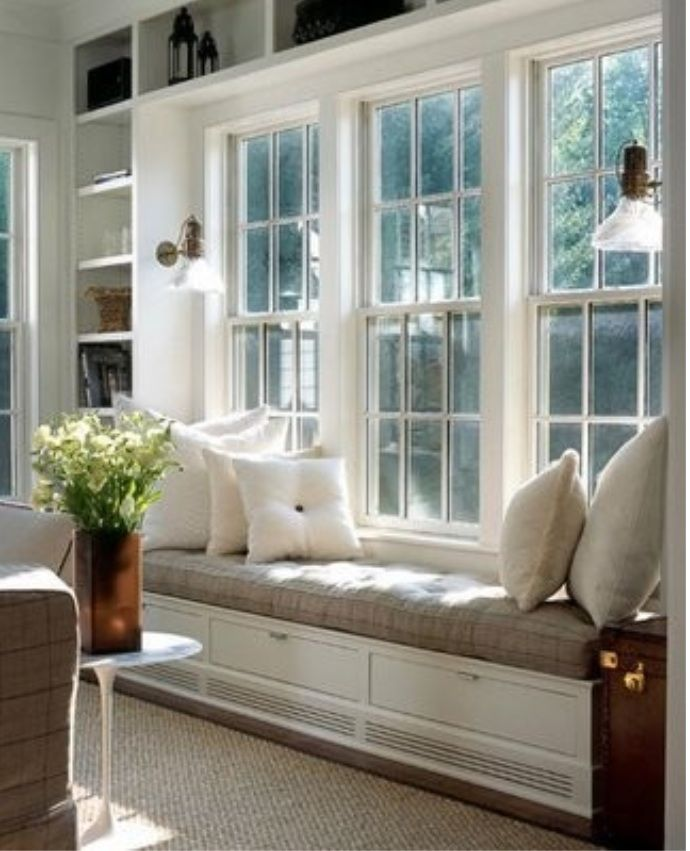 lovely window seat