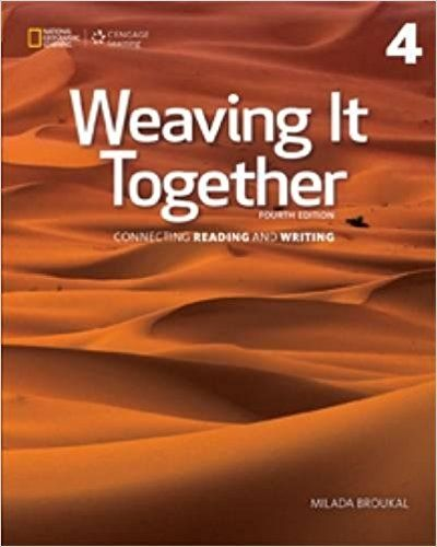 Weaving It Together 4 4th Edition Broukal Solutions Manual Test
