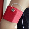 Work It Out iPod Armband | AllFreeSewing.com  Easy to do, use fun swimwear fabric and make it fun!