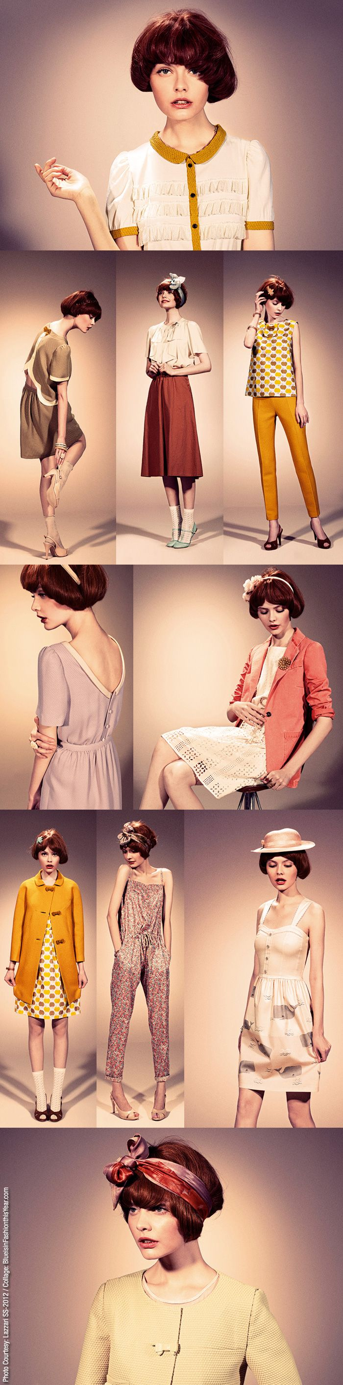 lazzari spring-summer 2012 : I am obsessed with every single look!