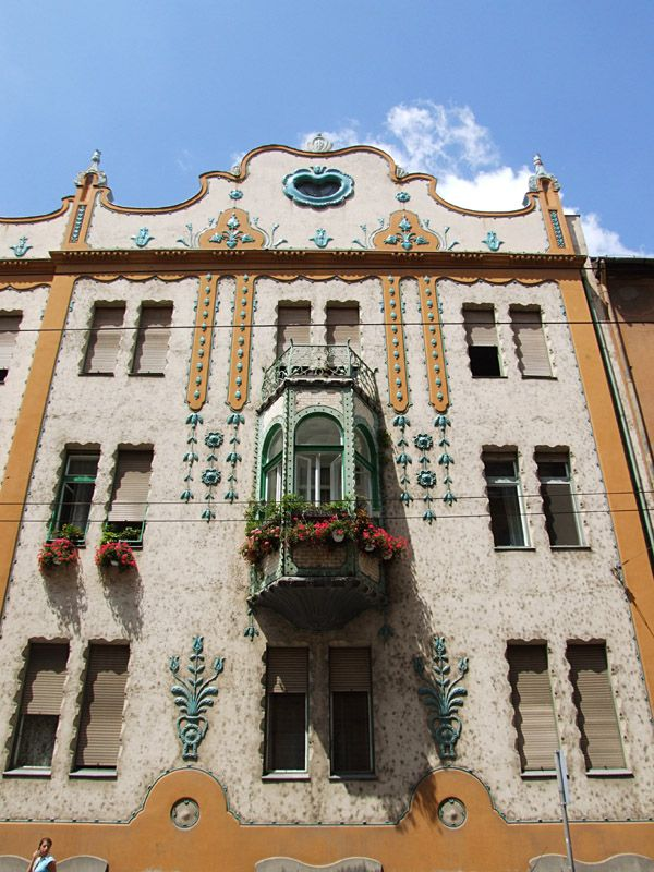 Art Nouveau - Szeged, Hungary