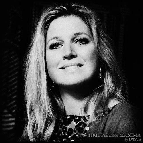 rvda:  Her Royal Highness Princess MAXIMA of the Netherlands. our soon to be QUEEN.. shot for BNN. GrR RVDA.