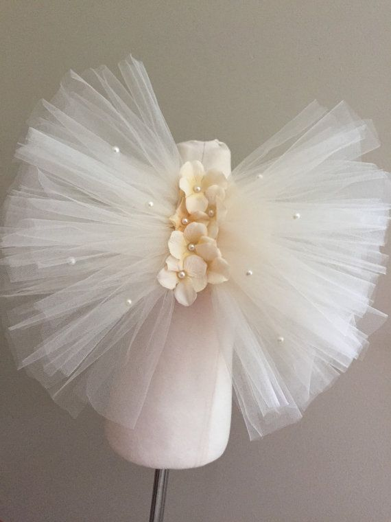 Ivory tulle fairy wings girls fairy wings girls by AnaBeanDesigns
