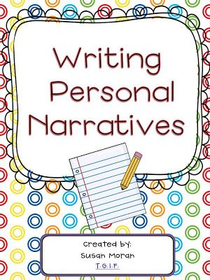 Step-by-step process to teaching the primary grades to write their own personal narratives! $
