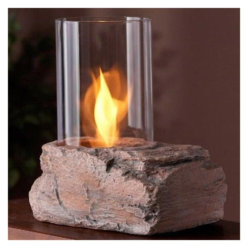 Add ambiance with the Real Flame Red Rock Personal Fireplace (430). Designed to resemble crater-like red rock, this rough-hewn-styled personal fireplace uses Real Flame gel fuel to produce a robust, bright yellow, orange and red flame that crackles just like a log fire. OSHA and EPA compliant Real Flame gel is an environmentally friendly, clean burning gel that doesn't leave any messy soot, smoke, or ashes behind.