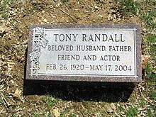 Always remembered for his role as Felix Unger in the The Odd Couple.