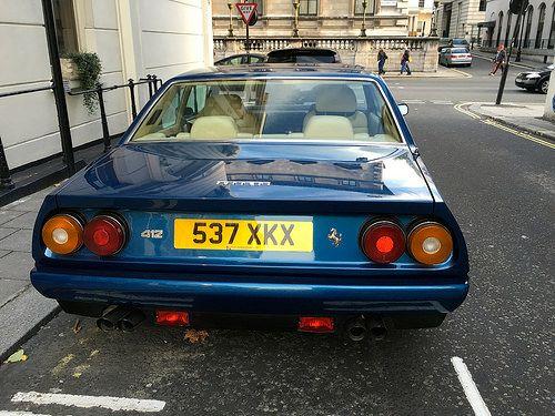 1989 Ferrari 412 Automatic   Registration Number 537XKX Make…   Flickr