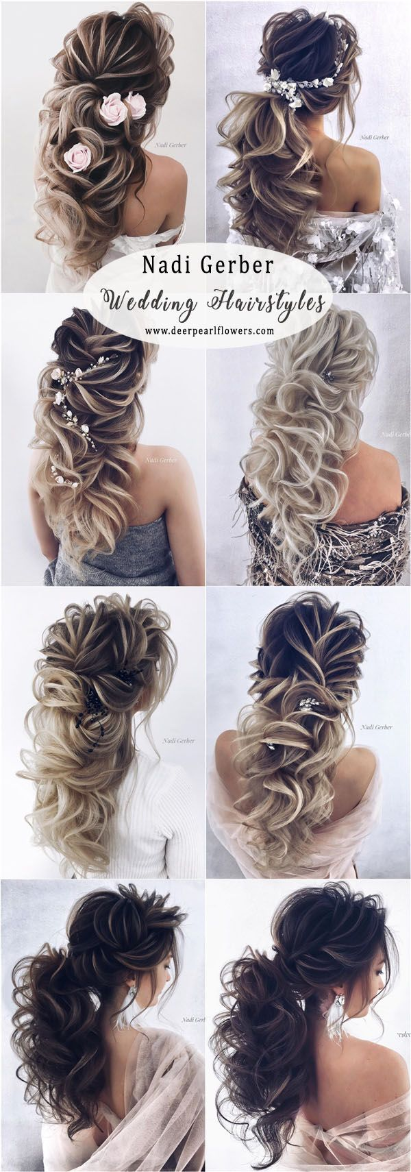 3195 best Wedding Hairstyles images on Pinterest | Bridal hairstyle ...
