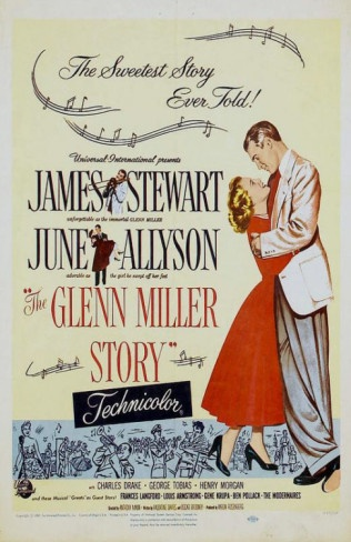 The Glen Miller Story...a classic!!  I loved Jimmy Stewart and June Allyson in this!