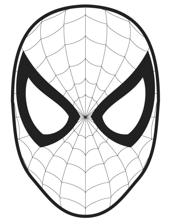 spiderman halloween coloring pages - photo#8