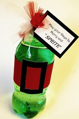 """""""May your Christmas be Merry and SPRITE!"""" included  card for downloading"""