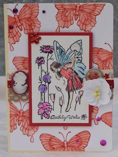 Fairy card #handmade