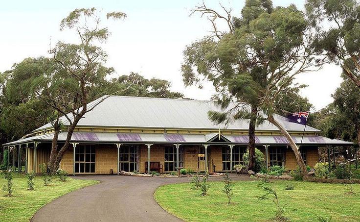 Australian homestead style exterior ideas verandas etc for Country house plans australia