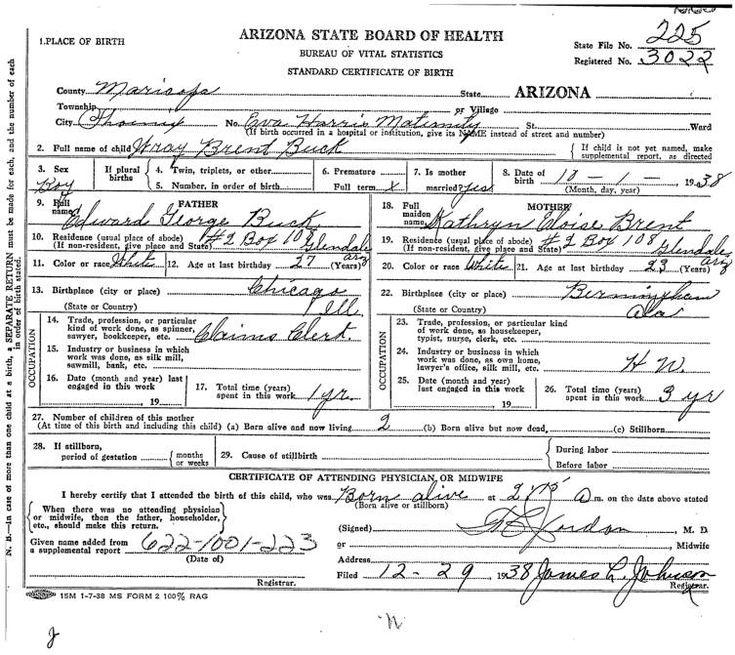 birth arizona certificate myheritageimages cf