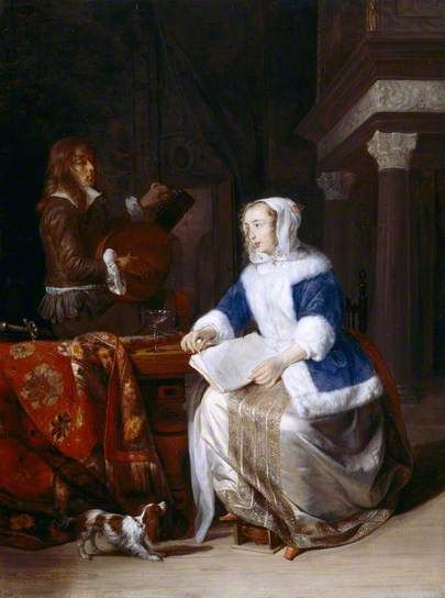 a report on the painting a girl receiving a letter by gabriel metsu in the timken museum of art A girl receiving a letter painting by gabriel metsu statements instance of painting 0 references image a girl receiving a letter by gabriel metsu, timken museum of artjpg 0 references inception 1658 0 references location timken museum of art 0 references.