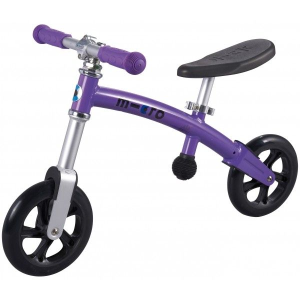 My baby girl would love to learn to ride a bike with this balance bike! Love the colour! Microscooters - G-Bike Plus Light Balance Bike Lilac #EntropyWishList #PinToWin