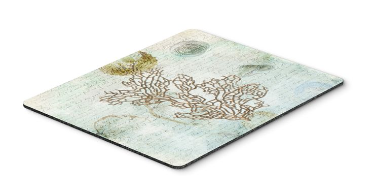 Coral Mouse Pad, Hot Pad or Trivet