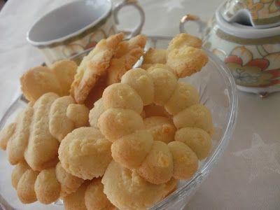 Ванилови бисквитки с шприц ~ Домашно приготвена храна