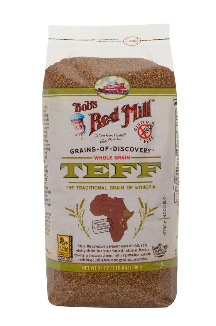 Whole Grain Teff is a tiny grain that has been a staple of traditional Ethiopian cooking for thousands of years. It has a mild, nutty flavor and is a good source of iron, calcium, magnesium, and zinc. Try teff in porridge or stew. Delicious on its own or combined with other grains and vegetables.