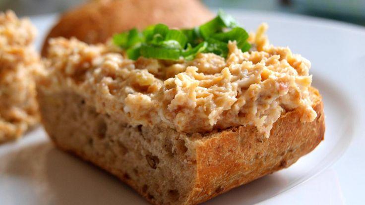 Škvarková pomazánka | Vaření s Tomem