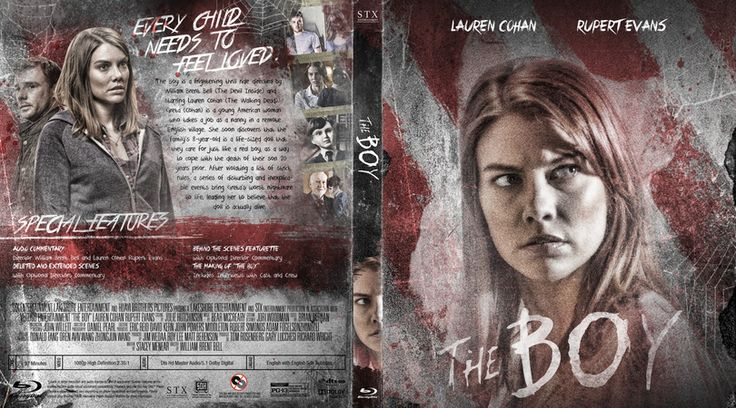 The Boy Blu-ray Cover