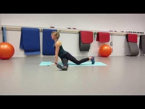 Rörlighetssekvens för löpare 1 -övningstips i film - Anna Lissjanis - Trend o träning