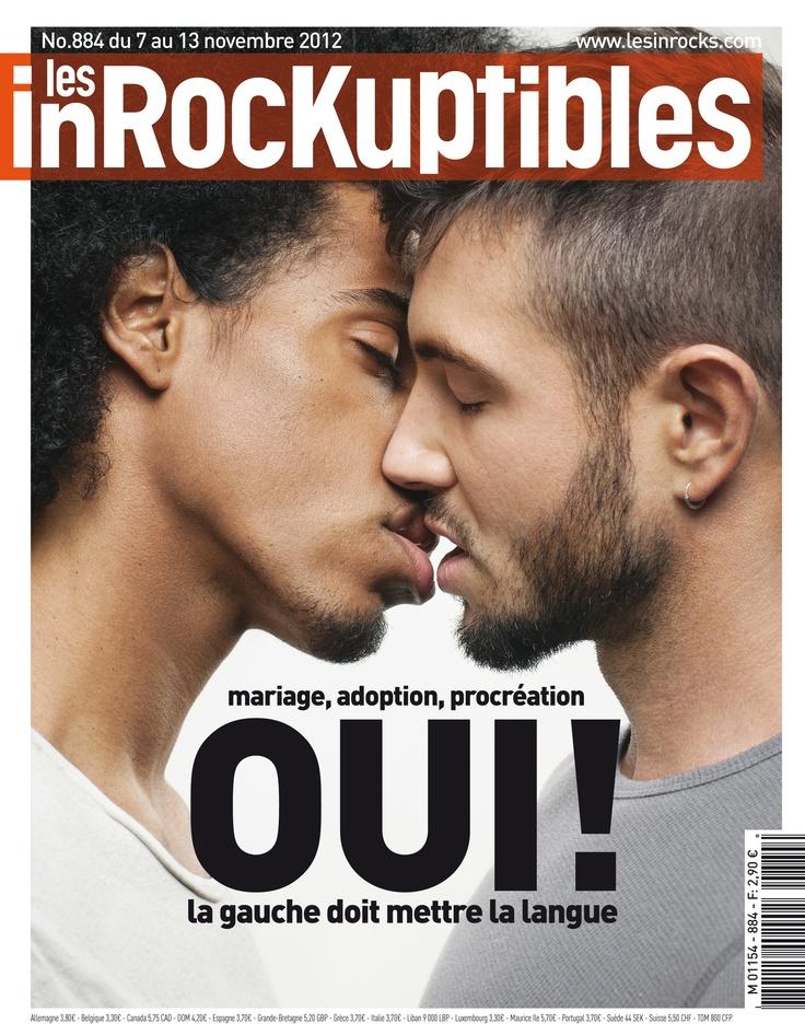 les Inrockuptibles Deux couvertures cette semaine : OUI! la gauche doit mettre la langue 2/2