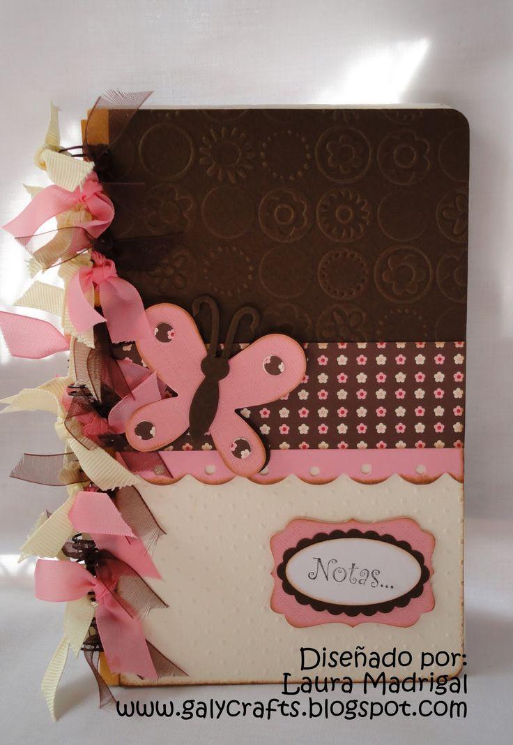 libreta. Altered notebook. Notebook. Cuaderno decorado. Libro alterado. Book.